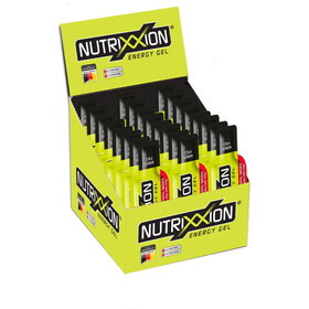 Nutrixxion Energy Gel Box mit Koffein 24 x 44g Cola Lemon
